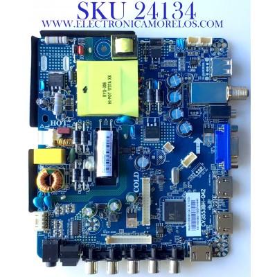 MAIN FUENTE PARA TV ELEMENT / NUMERO DE PARTE  103100060 / CV3553BH-Q42 / CV3553BH_Q42_13_170324 / 7.D3553BHQ4213.3C3 / 7BH13781711 / E17252-SY / PANEL T500-V35-DLED / MODELO ELFW5017