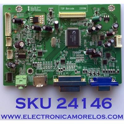 MAIN PARA TV HP / NUMERO DE PARTE 794761300A00R /492911300100R / ILIF-150 / PANEL LM270WF1 (TL)(C1) / MODELO 2710M