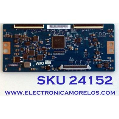 T-CON PARA TV VIZIO / NUMERO DE PARTE 55.50T32.C25 / 5550T32C25 / 55T32-C0F / PANEL TPT500U1-QVN03.U REV:SFB1H / MODELO M50Q7-H1 LTCWZKKW