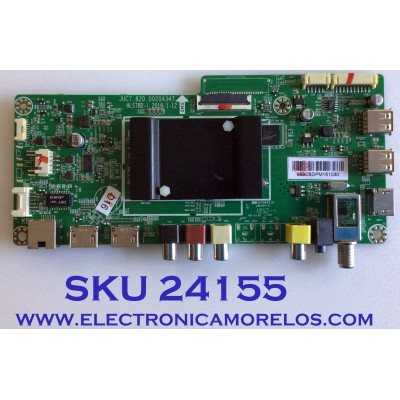MAIN PARA TV ELEMENT / NUMERO DE PARTE 999C8DPM / JUC7.820.00204347 / HLS78D-I / MODELO E2SW3918 A9C0H