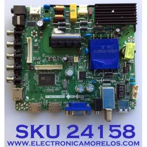 MAIN FUENTE PARA TV ELEMENT / NUMERO DE PARTE  K17041553 / TP.MS3393.PB801 / 21005880 / K1704155-0A00190 / 20170515_105038 / DJ6-N1  / PANEL MD5006YTIF / MODELO ELFW5017
