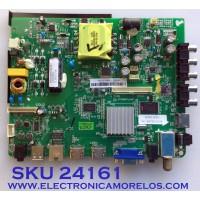 MAIN FUENTE (COMBO) PARA TV ELEMENT / NUMERO DE PARTE 110105002327 / ST6308RTU-AP1 / ST6308RTU-AP1-AK01 / 120000831 / 1602-17070058-1 / 983251 / 40E79317623B / PANEL LS390TU9P30 / MODELO ELSW3917BF H7D1M