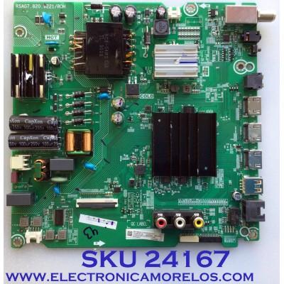 MAIN FUENTE (COMBO) PARA TV HISENSE / NUMERO DE PARTE 264148 / 264149 / RSAG7.820.9221/ROH / HU50A6109FUWR / 264148D / 264149DC / 3TE50G202701 / PANEL HD500X1U91-L3\S1\GM\ROH / MODELO 50R6090G5