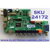 MAIN PARA TV JENSEN / NUMERO DE PARTE  F50CV3393BHK20001 / CV3393BH-K / 10010252 / 66T04451607BA0177 / LTE32387 / PANEL ST3151A04-8 / MODELO JTV32DC