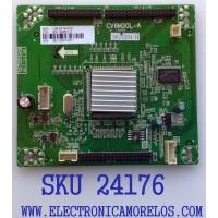 TARJETA INTERFACE PARA TV ELEMENT / NUMERO DE PARTE  RX-130621-2 / CV6M30L-A / 1.06.57.04100 / 36J120413011 / 36J120413011 / PANEL LSC400HF03-W01 / MODELO ELEFT406