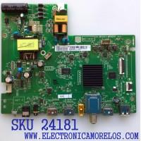 MAIN FUENTE (COMBO) PARA TV TCL / NUMERO DE PARTE 08-CS32TLM-LC357AA / 40-MS14X1-MPB2HG / MST14X1 / V8-ST14K01-LF1V1619 / 08-MST1421-MA200AA / 08-MST1421-MA300AA / PANEL LVW320NDEL / MODELO 32S335