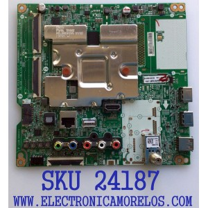 MAIN PARA TV LG / NUMERO DE PARTE EBT66461302 / EAX69083603 / EAX69083603(1.0) / PANEL NC650DQG-ABHX5 / PANEL 65UN7300PUF / 65UN7300PUF.BUSFLKR