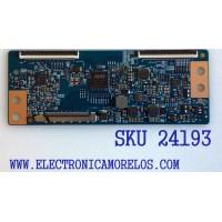 T-CON PARA TV VIZIO / NUMERO DE PARTE 55.55T23.C09 / 5555T230C09 / 42T34-C03 / SUSTITUTA 55.55T23.C02 / 5555T23C02 / PANEL´S MD5533YTAF / T550HVN08.1 / TPT550J1-HVN08.U REV:S110A / MODELOS ELEFW5517 / E55-C1 LTCWSHAR / LTCWSHBR / DWM55F1G1 TW-78991-A055P