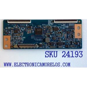 T-CON PARA TV ELEMENT / VIZIO / WESTINGHOUSE / NUMERO DE PARTE 55.55T23.C09 / 5555T23C09 / 42T34-C03 / SUSTITUTAS 5555T23C02 / 5555T23C05 / 5555T23C07 / PANEL´S MD5533YTAF / T550HVN08.1 / TPT550J1-HVN08.U / MODELOS ELEFW5517 / E55-C1 / E55-C2 / DWM55F1G1