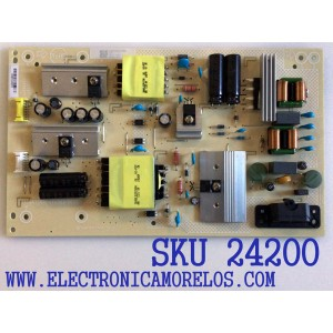 FUENTE DE PODER PARA TV VIZIO 4K HDR SMART TV / NUMERO DE PARTE ADTVK1811XB8 / 715GA750-P01-001-003S / VK1811XB8 / PANEL TPT430B5-GT013.H REV:S1G / MODELOS V435-H11 / V435-H11 LTM5ZG / V435-H1 / V435-H1 LTN5ZG / V435-H1 LTM5ZG