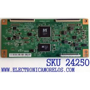 T-CON PARA TV ELEMENT NUMERO DE PARTE V500DJ7-CKS5 / YCV500DJ7CKS5CMPI / PANEL MD5005YTIF / MODELO ELFW5017 R712RRR