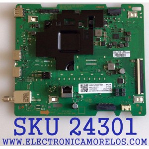 MAIN PARA TV SAMSUNG / NUMERO DE PARTE BN94-16107X / BN41-02756C / BN97-17444Q / BN41-02756C-000 / DFVC2033 / PANEL CY-BT065HHGSV1H / MODELO UN65TU7000FXZA UA06