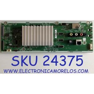 MAIN PARA TV SANYO / NUMERO DE PARTE AC78SUA-65US / BACRRAG0201 1 / C78SD0F019600766 / PANEL HV650QUB-N9E / MODELO FW65R70F A