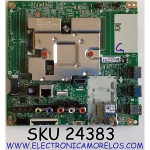 MAIN PARA TV LG 4K SMART TV / NUMERO DE PARTE EBU65841704 / EAX69083603 / EAX69083603(1.0) / PANEL NC500DQE-VHHXA / MODELO 50UN7000PUC / 50UN7000PUC.BUSULJM