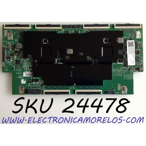 T-CON PARA TV SAMSUNG QLED 8K UHD HDR SMART TV / NUMERO DE PARTE BN95-06568A / BN41-02764A / BN97-16902A / DFVC2032 / PANEL'S CY-TT082JMLV1H / CY-TT082JMLV4H / MODELOS QN82Q800TAFXZA FA01/ QN82Q800 / QN82Q800TAFXZA / QN82Q800TAFXZA FF02