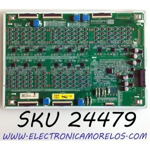 LED DRIVER (L) PARA TV SAMSUNG QLED 8K UHD HDR SMART TV / NUMERO DE PARTE BN44-01070A / L82S8SNC_THS / BN4401070A / E465853 / PANEL CY-TT082JMLV1H / CY-TT082JMLV4H / MODELO QN82Q800 / QN82Q800TAFXZA / QN82Q800TAFXZA FF02