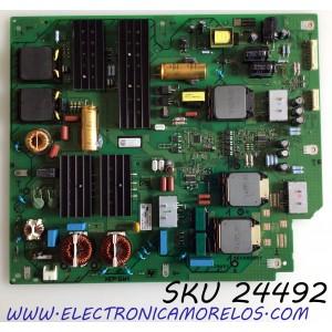 FUENTE DE PODER PARA TV SONY MASTER BRAVIA OLED 4K HDR ULTRA SMART TV / NUMERO DE PARTE 1-474-746-11 / 100127612 / 147474611 / APS-427(CH) / 209006479 / APS-427 / PANEL LE650AQP (AM)(A1) / MODELO XBR-65A9G / XBR65A9G