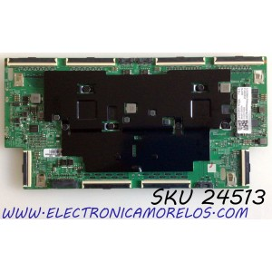 T-CON PARA TV SAMSUNG QLED 8K UHD HDR SMART TV / NUMERO DE PARTE BN95-06565A / BN41-02765A / BN97-16900A / BN41-02765A-000 / DFVC2009 / PANEL CY-TT065JMLV4H / MODELO QN65Q800 / QN65Q800TAFXZA / QN65Q800TAFXZA FF02