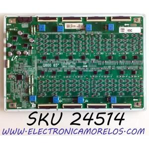 LED DRIVER PARA TV SAMSUNG QLED 8K UHD HDR SMART TV / NUMERO DE PARTE BN44-01068A / L65S8SNC_THS / BN4401068A / E465853 / PANEL CY-TT065JMLV4H / MODELO QN65Q800 / QN65Q800TAFXZA / QN65Q800TAFXZA FF02