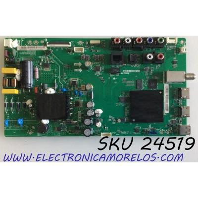 MAIN FUENTE (COMBO) PARA TV VIZIO SMART TV / NUMERO DE PARTE 6M03A0002300V / 6M03M0003300R / TP.MT5581.PB761 / 191E24526C / E248237 / 2C641F5B221B / PANEL V400HJ9-D03 REV.CI / MODELO D40F-G9 / D40F-G9 LINIXTDW