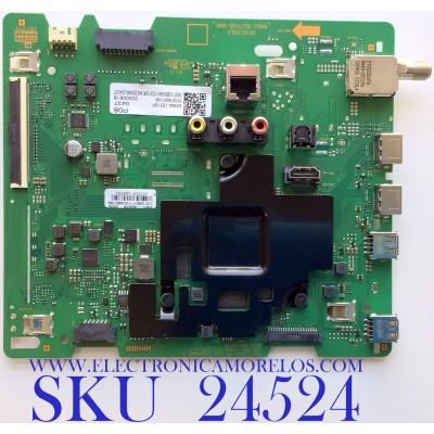 MAIN PARA SMART TV SAMSUNG QLED 4K CON HDR RESOLUCION (3,840 x 2,160) / NUMERO DE PARTE BN94-15319F / BN41-02756B / BN97-16597X / 010219931196 / BN41-02756B-000 / 20200618 / PANEL CY-RT058HGNV2H NW25 / MODELO QN58Q60TAFXZA DB01