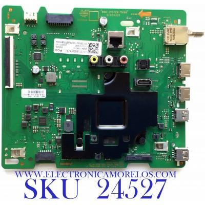 MAIN PARA SMART TV SAMSUNG Crystal UHD 4K CON HDR RESOLUCION (3,840 x 2,160) / NUMERO DE PARTE BN94-15807X / BN41-02756C / BN97-16917H / 010227272640 / 20201117 / PANEL CY-BT075HGV1H NW47 / MODELO UN75TU8000FXZA CA03