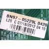 MAIN PARA TV SAMSUNG / NUMERO DE PARTE BN94-05578J / BN41-01800A / BN97-05229L / 20120718 / 010047274998 / PANEL LE650DSA-V1 / MODELO UN65ES8000FXZA AH01