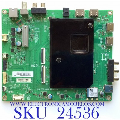 MAIN PARA SMART TV VIZIO 4K HDR RESOLUCION (3840 x 2160) / NUMERO DE PARTE XKCB02K020 / 715GA755-M0D-B00-005Y / (X)XKCB02K020000X/JQ5KX4 / A75000300 / 4884510 / MODELO P75QX-H1 LTYAZTKW