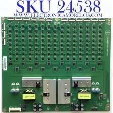 LED DRIVER PARA TV VIZIO / NUMERO DE PARTE LNTVJT12ZAAAM / 715GA983-P01-000-005T / (X)LNTVJT12ZAAAM / JT12ZAAAM / 4884510 / MODELO P75QX-H1 LTYAZTKW
