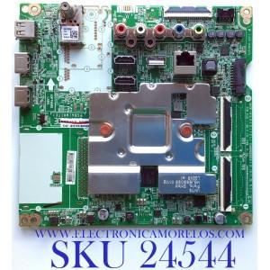 MAIN PARA SMART TV LG 4K UHD RESOLUCION (3840 x 2160) / NUMERO DE PARTE EBT66493102 / EAX69083603(1.0) / DIEBT000-0135 / RU08R2A1VL / PANEL NC650EQG-ABHH5 / MODELO 65NAN081ANA.BUSFLOR / 65NAN081ANA