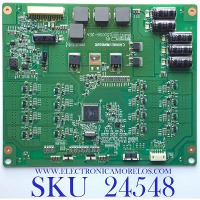 LED DRIVER PARA TV SEIKI / NÚMERO DE PARTE 27-D083802 / L500S6-2EA / L500S1-2EA-C002 / ABX301306J7002 / PANEL V500DK1-LS1 REV.C1 / MODELO SE50UY04