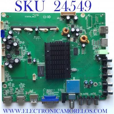 MAIN PARA TV SEIKI / NUMERO DE PARTE SY13121 / ST2975K_R10.3 / 890-M00-52N02 / SPUD1-13030876 / ST2975K / DJH130405 / PANEL V500DK1-LS1 REV.C1 / MODELO SE50UY04