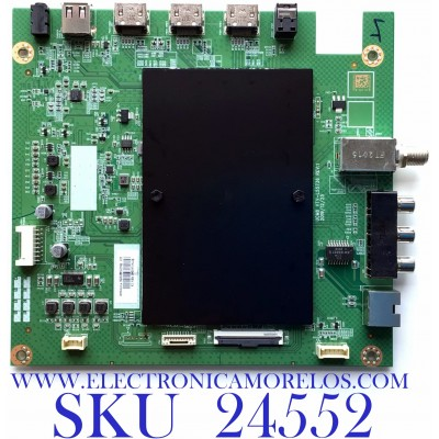 MAIN PARA SMART TV TOSHIBA 4K UHD / NUMERO DE PARTE 631V0Q00040 / VTV-L55736 REV:1 / 7160248-4 / 58423.54903056 / 691V0Q00040 / PANEL K550WDCRA-UK350A7 / MODELO 55LF621U21