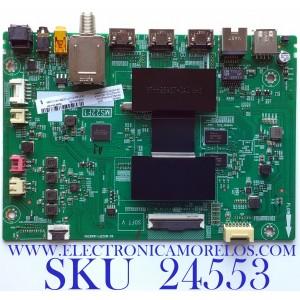 MAIN PARA SMART TV TCL (ROKU) 4K UHD CON HDR RESOLUCION (3840 X 2160) / NUMERO DE PARTE H4-MS22F03-US05WAA / 40-MS22F1-MAB2HG / 08-MS22F03-MA200AA / 08-MS22F03-MA300AA / GMB000005A / V8-ST22K01-LF1V2286-V9 / PANEL LVU550NDEL SJ9W06 / MODELO 55S425
