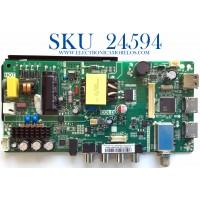 MAIN FUENTE (COMBO) PARA TV INSIGNIA / NUMERO DE PARTE 3200533977 / TP.MS3553.PA592 / N18082732 / 320045532112005 / 9EEC 20171220_103751 / E254215 / BOEI236WX1(OC:HV236WHB-N00) / MODELO NS-24D310NA19