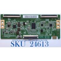 T-CON PARA TV VIZIO QUANTUM COLOR SMART TV / NUMERO DE PARTE HV650QUBF70 / 47-6021332 / HV650QUB_F70_V00 / 44-9771601O / 44-97716010 / B03D04EE0006A / MODELO M656-G4 / M656-G4 LBPFQOGW