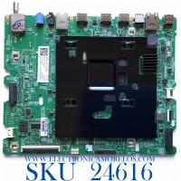 MAIN PARA TV INTELIGENTE QLED 4K CON HDR RESOLUCION (3840 x 2160) / NUMERO DE PARTE BN94-15724B / BN41-02794A / BN97-17191H / 010223449570 / 20200827 / PANEL CY-TR055FLAVVFH NW35 / MODELO QN55LST7TAFXZA AA01