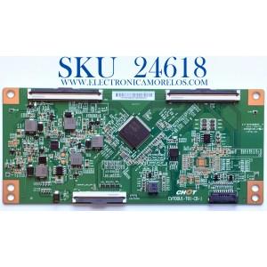 T-CON PARA TV INSIGNIA / VIZIO 4K UHD SMART FIRE TV / NUMERO DE PARTE CV700U1-T01-CB-1 / C17104SS0008G / E255400 / PANEL´S TPT700B5-U1T01.D REV:S01BD / TPT700B5-U1T01.D REV:S01BA / MODELOS NS-70DF710NA21 / V705-H1 / V705-H1 LMXHZJ / V705-H1 LTCHZJKW