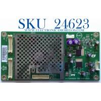 LED DRIVER PARA TV VIZIO / NUMERO DE PARTE CBPFTQAPT5K00501 / 715G4026-T0D-000-005K / E243951 / TQAPT5K005 / (T)TQAPT5K00501 / PANEL LC550WUD (SC)(A1) / MODELO E550VA / E550VA LTMPIEAL
