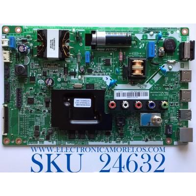 MAIN FUENTE PARA SMART TV SAMSUNG UHD CON HDR RESOLUCION (1,366 X 768) / NUMERO DE PARTE 60103-00694 / ML41A050478C / VN32HS048U3/BE / PANEL BOEI320WX1 / MODELO UN32M4500BFXZA BG07