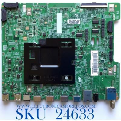 MAIN PARA SMART TV SAMSUNG QLED 4K UHD CON HDR RESOLUCION (3,840 x 2,160) / NUMERO DE PARTE BN94-12914F / BN41-02636A / BN97-14052E / 010192117823 / 20181018 / PANEL CY-TN082FLLV1H KW42 / MODELO QN82Q8FNBFXZA FA01