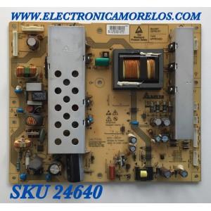 FUENTE DE PODER PARA TV PHILIPS / NUMERO DE PARTE 313912879461 / DPS-182CP / 906.4 D04.D / 0698937 / MODELO 32PFL5403D/F7