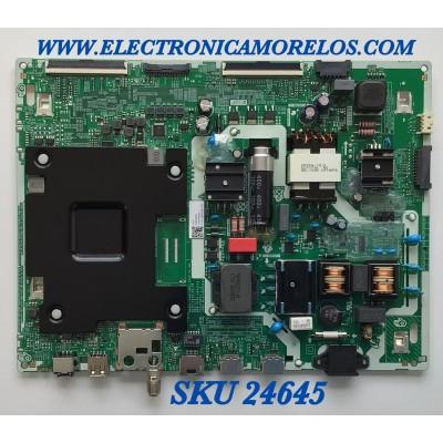 MAIN FUENTE PARA SMART TV SAMSUNG UHD CON HDR RESOLUCION (3840 x 2160) / NUMERO DE PARTE BN96-51660D / ML41A050594A / BN9651660D / DY82N4ED1PJ / PANEL CY-BT055HGLV3H NW24 / MODELO LH55BETHLGFXGO FA01