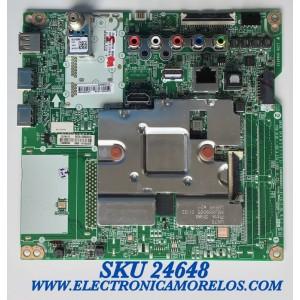 MAIN PARA SMART TV LG UHD 4K CON HDR RESOLUCION (3,840 x 2,160) / NUMERO DE PARTE EBT66527904 / EAX69083603(1.0) / 66086801 / GO088014DN / 31196731 / RU0929AE8 / PANEL NC700DQE-VSHX1 / MODELO 70UN7070PUA.AUSMLKR / 70UN7070PUA