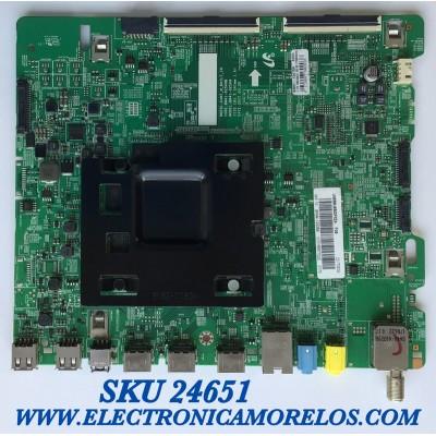 MAIN PARA SMRAT TV SAMSUNG 4K UHD CON HDR RESOLUCION (3840 x 2160) / NUMERO DE PARTE BN94-12426E / BN41-02568B / BN97-13470A / 20170830 / 010166977022 / PANEL CY-WK055HGLV2H JW35 / MODELO UN55MU650DFXZA FA01