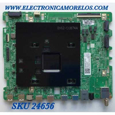 MAIN PARA SMART TV SAMSUNG Neo QLED 8K QUANTUM HDR RESOLUCION (7,680 x 4,320) / NUMERO DE PARTE BN94-15362B / BN41-02749A / BN97-16646A / 20200820 / 010223061549 / PANEL CY-TT085FLAV2H NW34 / MODELO QN85Q90TAFXZA AA01