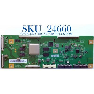 T-CON PARA TV SONY / NUMERO DE PARTE 6871L-6630B / 6870C-0887A / LE770AQP (AN)(A1) / 6630B / PANEL LE770AQP(AN)(A1) / MODELO XBR-77A9G / XBR77A9G