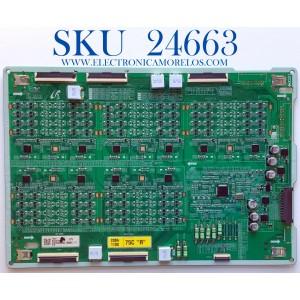 LED DRIVER PARA TV SAMSUNG / NUMERO DE PARTE BN44-01069A / L75S8SNC_THS / BN4401069A / AM5RN2N0283 / PANEL CY-TT075JMLV4H / MODELO QN75Q800TAFXZA