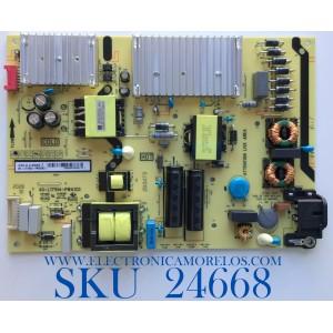 FUENTE DE PODER PARA TV TCL / NUMERO DE PARTE 08-L171WD2-PW200AD / 40-L171H4-PW200AD / CCP-505 / 20293473PS3710 / PANEL LVU650NDEL CS9W11 / MODELO 65S435 / 65S431 / 65S434