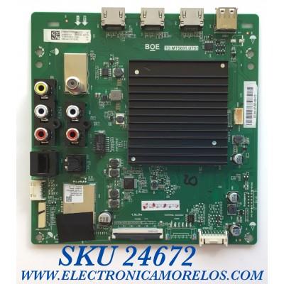 MAIN PARA SMART TV VIZIO 4K UHD CON HDR RESOLUCION 3840 x 2160 / NUMERO DE PARTE 275985 / TD.MT5691.U751 / TE65BBV0170 / 21201-02252 / 262778 / TM2093C1W / TV18970108 / PANEL HV650QUB-F70 / MODELOS V655-H4 LBPFZZKW / V655-H4